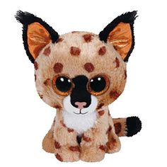 TY Beanie Boo Plush - Buckwheat the Lynx Beanie Boos are They are made from Ty's best selling fabric - Ty Silk, and are created with fantastic custom eyes. Peek-a-Boo they want to come home with you. Ty Beanie Boos, Beanie Babies, Ty Babies, Ty Peluche, Ty Stuffed Animals, Husky, Ty Toys, Peek A Boo, Cute Beanies