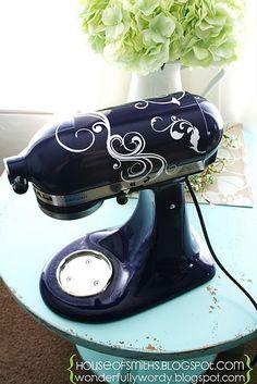 vinyl decals to decorate appliances