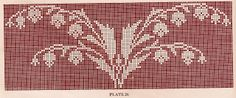 Sentimental Baby: Vintage 1920s Filet Crochet and Cross Stitch Patte...