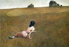 Andrew Wyeth- sometimes I feel like I can see the goal but I just can't reach it.