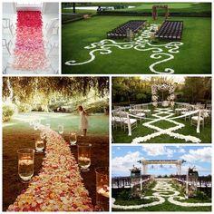 Creative Wedding Aisles!!!