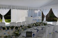 FERIATUS - Baby Boy - White - Blue - Flowers - Tent