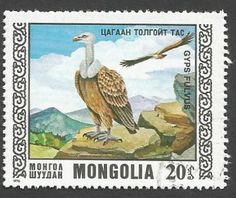 Serie aves protegidas, Mongolia