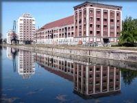 Ensemble des bâtiments Seegmuller, en automne 2004, juste avant le début du chantier de restauration... 4 rue du Bassin d Austerlitz (Neudorf) Strasbourg