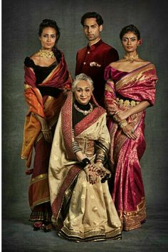 """Embellished weaves from Tarun Tahiliani's sub-label """"Help Our Heritage"""". Indian Attire, Indian Wear, Indian Outfits, Indian Fashion, Style Fashion, Fashion Ideas, Tarun Tahiliani, Desi Wear, Lahenga"""