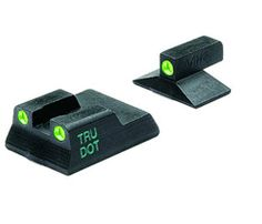 """Meprolight Heckler and Koch Tru-Dot Night Sight for P7M8 and M10 Fixed Set with Green Rear and Front Sight by Meprolight. $79.83. The ML11515 set is meant for use on the P-7 series pistols. However, it will not fit the P-7 """"PSP"""" version. This is a fixed set with green rear and front sight. Save 31%!"""