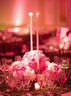 Wedding Reception Decor Inspiration. To see more: http://www.modwedding.com/2014/01/21/30-wedding-reception-decor-inspiration/ #wedding #weddings #reception #centerpieces