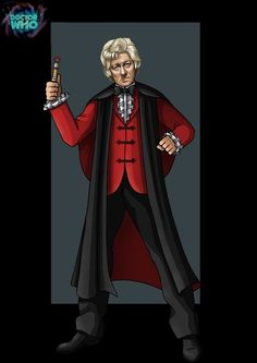 Doctor Who, character drawing by Doctor Who Fan Art, Bbc Doctor Who, 12th Doctor, Jon Pertwee, Classic Doctor Who, Best Doctors, Torchwood, David Tennant, Character Drawing