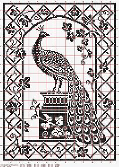 free fillet crochet charts, Hungarian site.  Many patterns