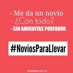 #NoviosParaLlevar