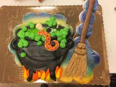 Halloween pull apart cupcake cake