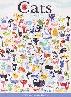 99 gatos y un perro