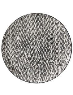 Salt&Pepper Raww Side Plate, 20cm, Black product photo