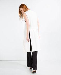 Image 2 of LONG WAISTCOAT from Zara