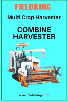 """#Fieldking Multi-Crop Harvester with Straw chopper """"The Most innovative #Harvester for #StrawManagement best suitable for #wetlands and in harvesting variety of #crops"""" #CombineHarvester #harvesterprice #harvestermachine #combineharvestermachine #harvestermachineprice #combineharvesterprice #harvestermachinepriceinIndia #combineharvesterpriceinIndia #minicombineharvesterprice Harvest Corn, Agriculture Machine, Combine Harvester, Chopper, Innovation, Choppers"""