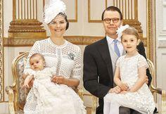Las hermosas fotos del bautizo de Óscar de Suecia