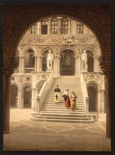 Photochrom of Venice, 1890s.