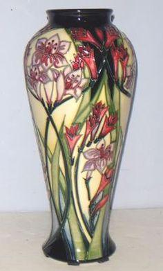 Superb MOORCROFT Limited Edition Vase - ROSALINDE by Carole Lovatt 2005