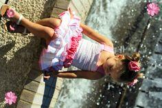 Little girls fashion - Cute in pink