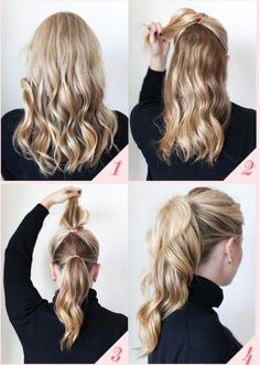 9 Best Office Hairstyles for Long Hair - Hair Styles Office Hairstyles, Lazy Hairstyles, Pretty Hairstyles, Easy Hairstyles For Everyday, Simple Hairstyles, Casual Hairstyles For Long Hair, Hairstyles Pictures, Spring Hairstyles, Easy Hairstyles For Work