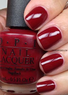 OPI: Quarter of a Cent-Cherry polish