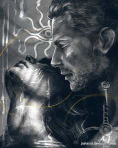 Do you have some time? by JustAnoR on DeviantArt (Cullen/Inquisitor)