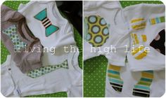 cute onesie decorating ideas for baby shower