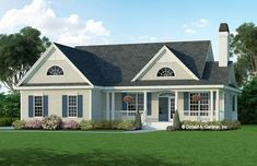 House Plan The Huntington by Donald A. Gardner Architects