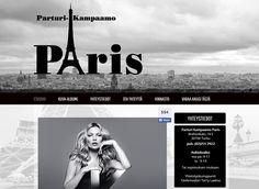 Parturi-Kampaamo Paris uudisti kotisivujensa ilmeen Kotisivukoneen Avaimet käteen -palvelun avulla.
