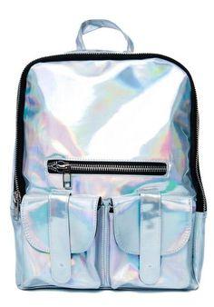 2016 New Promotion Silver Hologram Laser Backpack Leather Bag Multicolor Silver Women Backpack School Bag Bolsas Mochilas Preppy Backpack, Tote Backpack, Rucksack Bag, Mochila Formal, Mochila Tote, Leather School Backpack, Holographic Bag, Hologram, Holographic Fashion