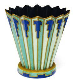 "shewhoworshipscarlin: ""Art Deco vase, 1927. """