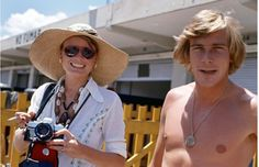 Suzy Miller and James Hunt