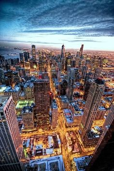Beautiful city of Chicago