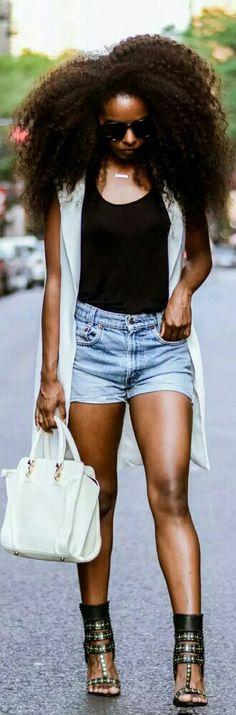 White Vest / Fashion by Sunita V.