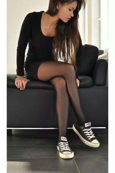 Nylon and converse! Awesome!