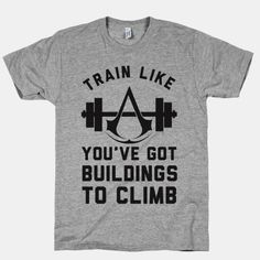 Train Like You've Got Buildings To Climb