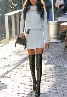 fashforfashion -♛ STYLE INSPIRATIONS♛: overknees