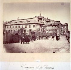 Lo que de verdad me gusta: FOTOS ANTIGUAS6- Convento de Santa Teresa en 1869, fundado en 1684, fundado por Nicolás de Gumán duque de Medina de las Torres. Fue derribado, y sobre su solar se construyeron las calles Campoamor, Argensola y Santa Teresa