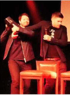 #MishaCollins #JensenAckles #Cockles #JIB7 #Roma