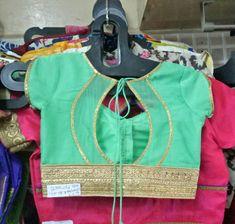 Simple Blouse Designs, Stylish Blouse Design, Fancy Blouse Designs, Blouse Neck Designs, Dress Design Patterns, Designer Blouse Patterns, Blouses, Scrappy Quilts, Vestidos