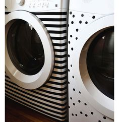 Washer & Dryer Makeover | DIY Home Decor Ideas on a Budget | Click for Tutorial | DIY Home Decorating on a Budget