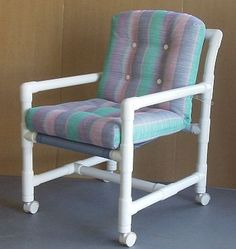 DIY PVC Pipe Furniture : would be great for a patio.
