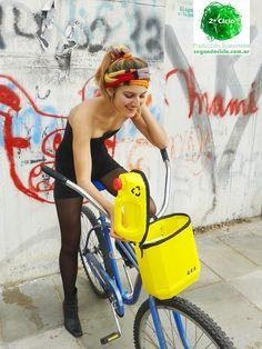 BIciCANASTOBIDón - llevá la vida en Bici + Librito Ecojuguetes en Acción  + Banda Mutliuso Arcoiris tejida  2º Ciclo Producción Sustentable #DiseñoSustentable #Ecodiseño #Ecojuguete