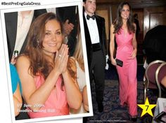 #BestPreEngGalaDress n.7 When Kate attended Boodles Boxing Ball in London (June 2008).