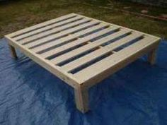 Diy Wood Platform Bed Frame Uoixwos