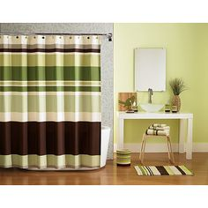 Hometrends Galerie Bath Collection Bundle from walmart.com.  I just bought this for the guest bathroom and I love it!  I'm painting the bathroom a similar spring green color now.