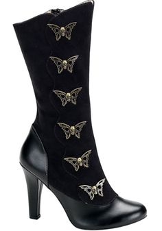 Demonia - Tesla 107 Boot (Black). If you're searching for the perfect perfume to compliment your quirky steampunk style, check out http://www.designyourownperfume.co.uk to design your own!