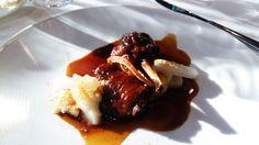 Ànec confitat amb nap negre, vainilla i gàstrica de taronja  http://www.cett.es/aularestaurant/