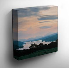 Loch Awe, Scotland - #canvas #art #scotland