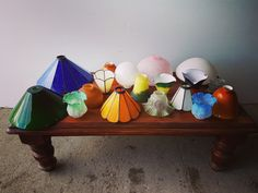 Range of lamp shades in stock. Starting at only €5 and up to €15. We have all shapes and sizes in a mix of colours /designs - www.eurosalve.com    #kilkennysalvage #kilkenny #ireland #salvage #antique #salvageyard #vintage #salvaged #eire #irishhomes #newbuild #renovation #lampshade #lighting #lamps #colour #homerenovation #home #homedecor #homedesign #interiordesigner  #interiordesign #hallway #interior #lights #bulb #instagram #photooftheday